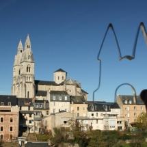 Uitsteker in Rodez (Frankrijk) door Irene Oldekamp