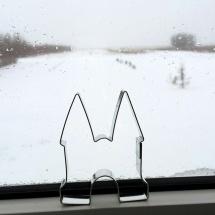 Aangekomen in Saskatchewan, Canada tijdens een sneeuwstorm door Irene Harms