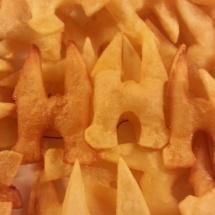 Close up Waterpoort patat door Maud Kampen
