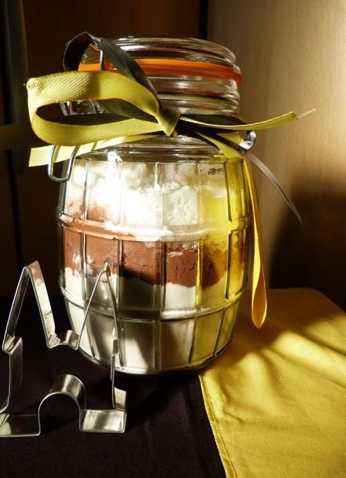 Pot koekjesmix met uitsteker