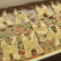 Romige Kip-groenten ovenschotel met Amerikaans biscuitdeeg 2 door Verona Eekma