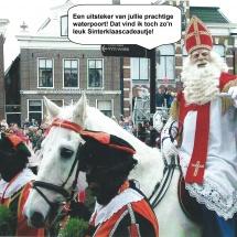Sinterklaas tipt uitsteker