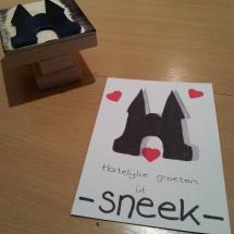 Stempel je eigen Sneek-kaartje door Marianne de Zwart