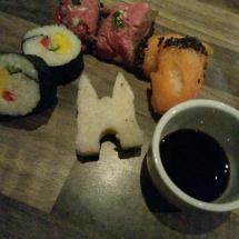 Waterpoort sushi door Peter de Vries