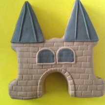 Waterpoorttaart met fondant door Mildred Hoomoedt-de Nijs
