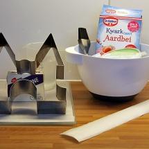 We maken een kwarktaart met de taartrand door Marsha Terveer-Potma