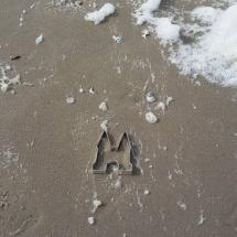 Aangespoeld op het strand bij Camperduin door Paul Hoomoedt