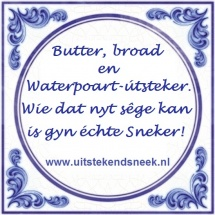 Butter broad en Waterpoartutsteker