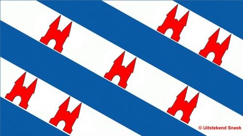 Friese vlag Uitstekend Sneek