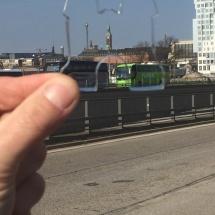 De uitsteker in Kopenhagen met op de achtergrond o.a. Tivoli door Titia van Soelen
