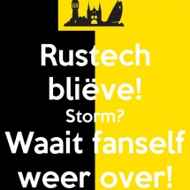 Rustech blieve Storm Waait fanself weer over copyright