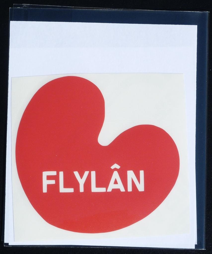 Sticker Pompebled Flylan
