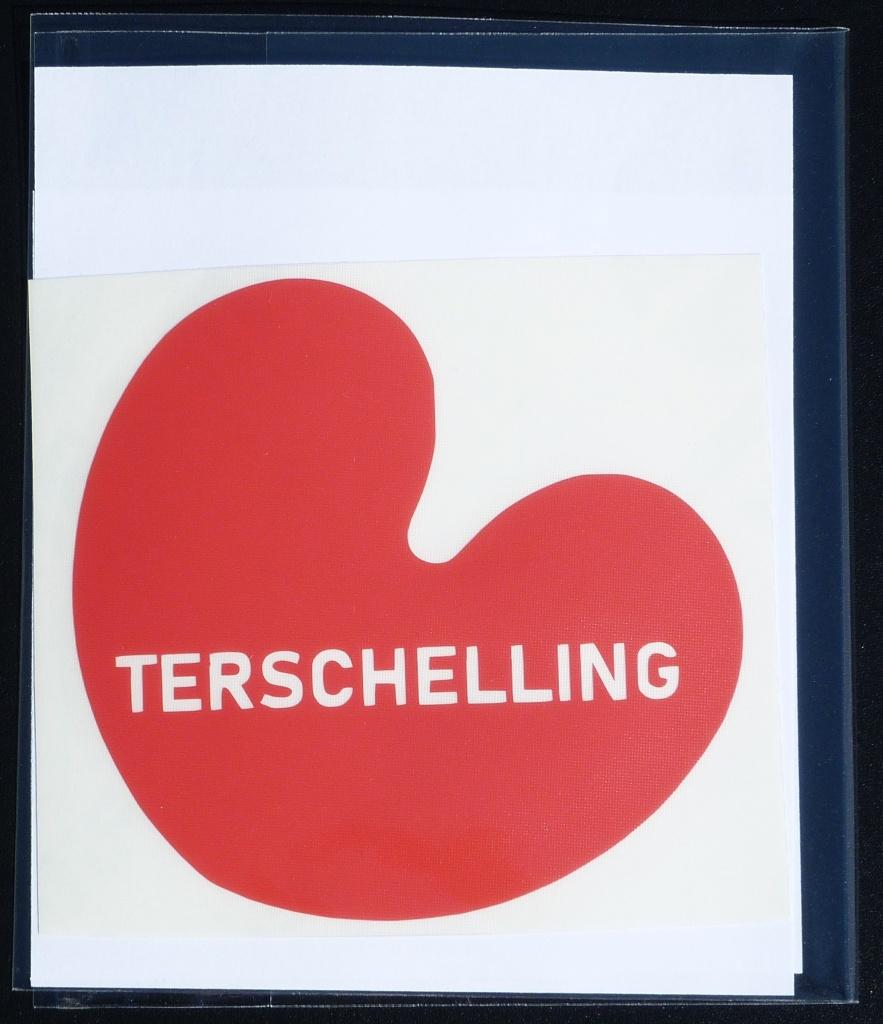 Sticker Pompebled Terschelling