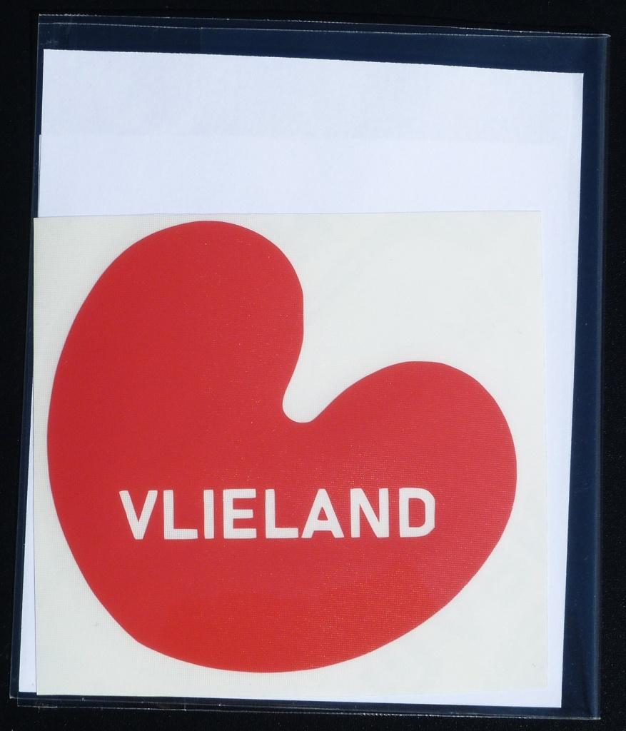 Sticker Pompebled Vlieland
